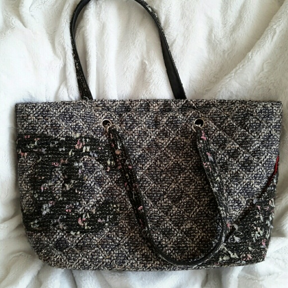 b60ac7c5f740a7 CHANEL Bags | Authentic Tweed Tote | Poshmark
